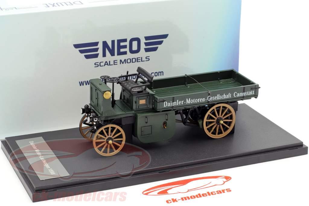 Daimler Motor-Lastwagen year 1898 dark green 1:43 Neo