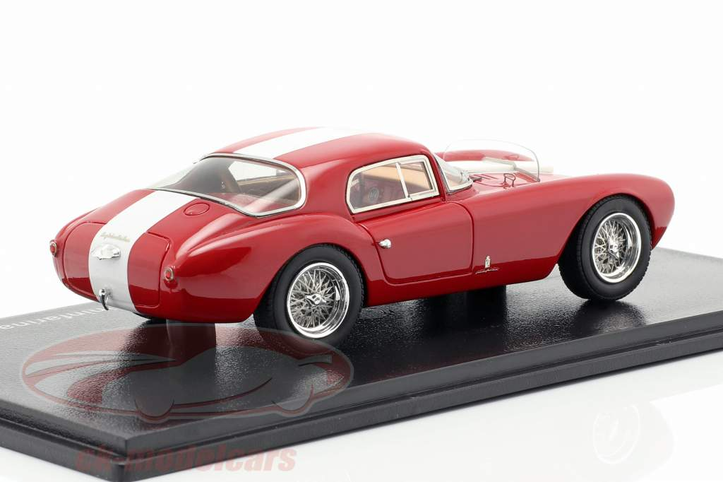 Maserati A6GCS/53 Berlinetta Pininfarina red / white 1:43 Neo