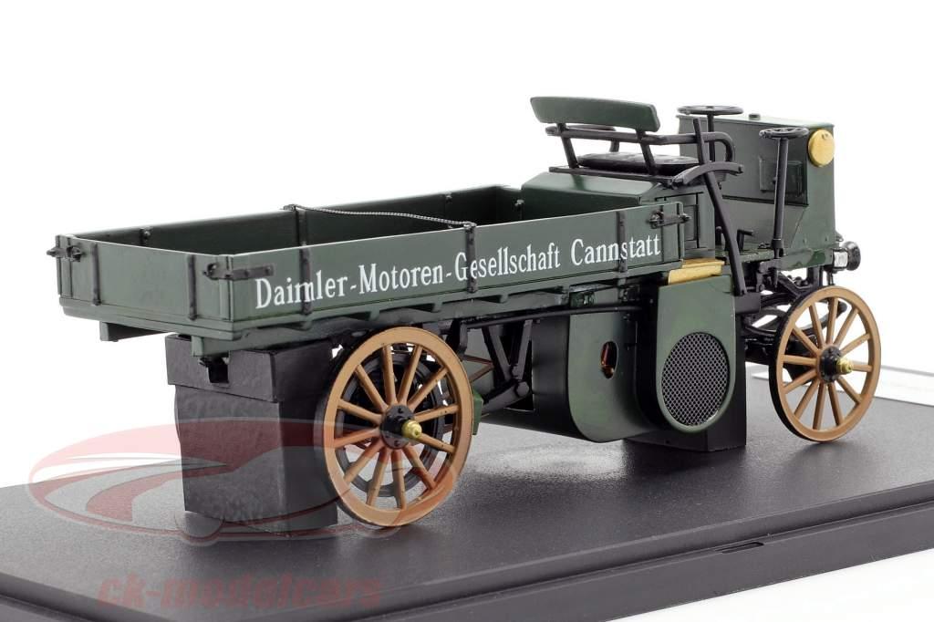 Daimler Motor-Lastwagen ano de construção 1898 verde escuro 1:43 Neo