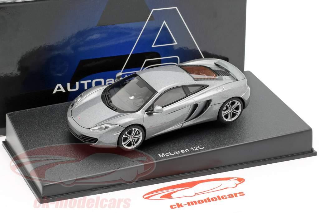 McLaren MP4-12C Año 2011 plata metálico 1:43 AUTOart