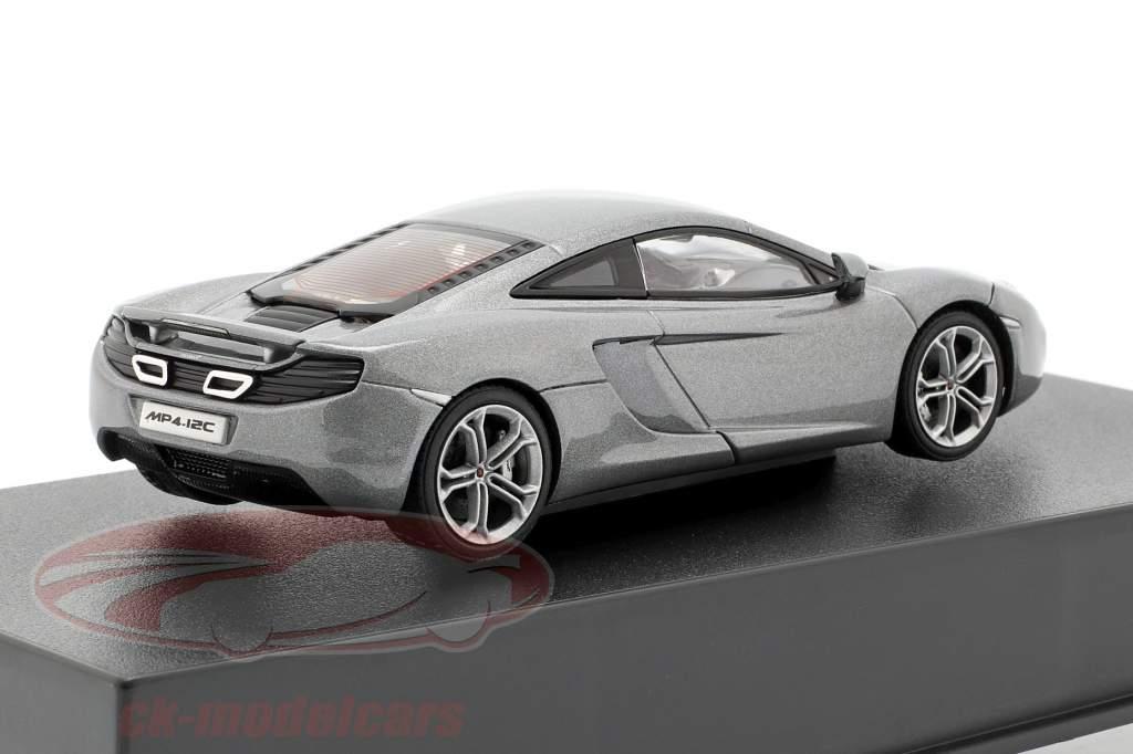 McLaren MP4-12C Année 2011 argent métallique 1:43 AUTOart