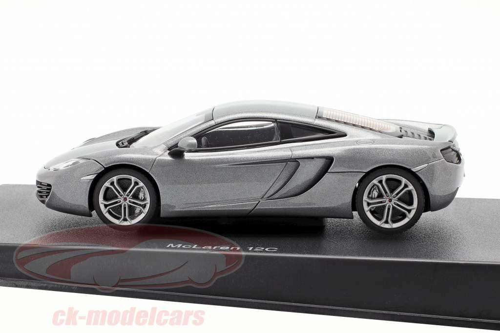McLaren MP4-12C Ano 2011 prata metálico 1:43 AUTOart