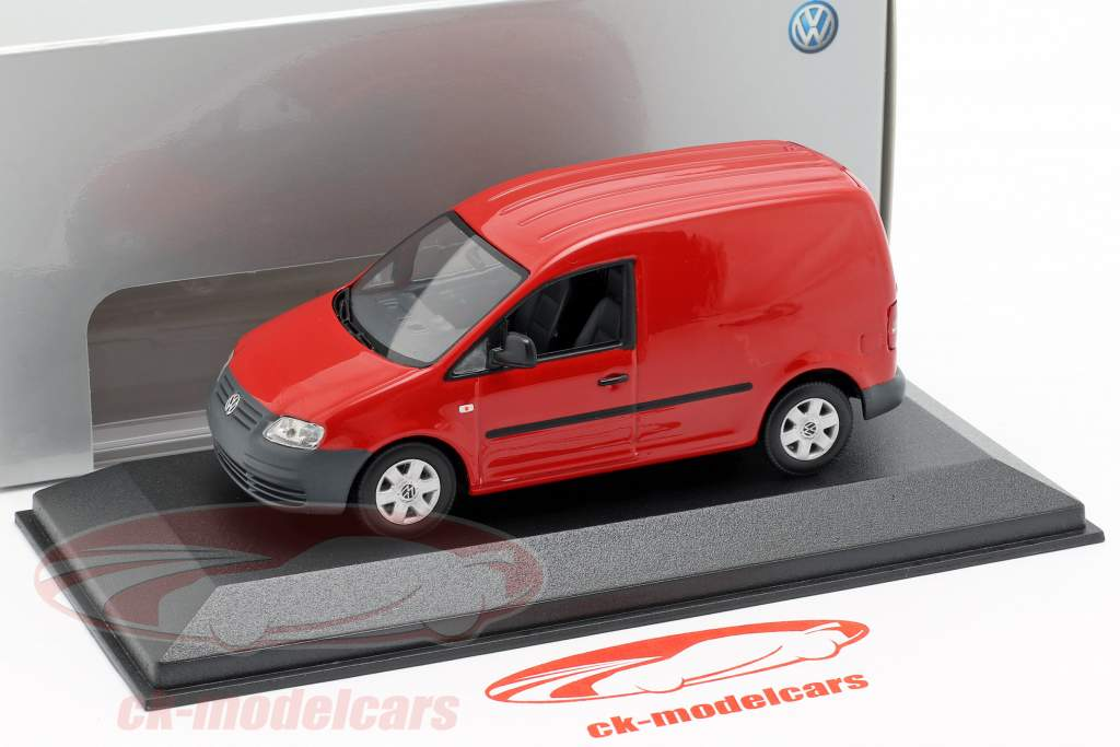 Minichamps 1 43 Volkswagen Caddy Red Ck9991203 Model Car Ck9991203