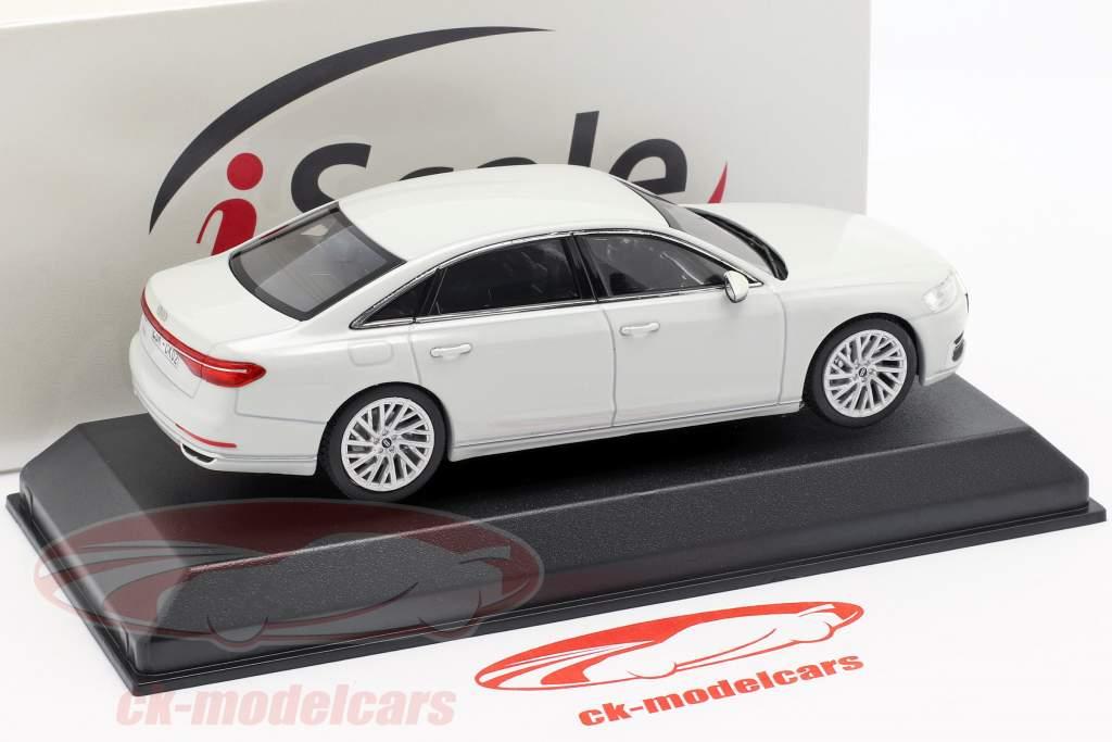 Audi A8L wit 1:43 iScale