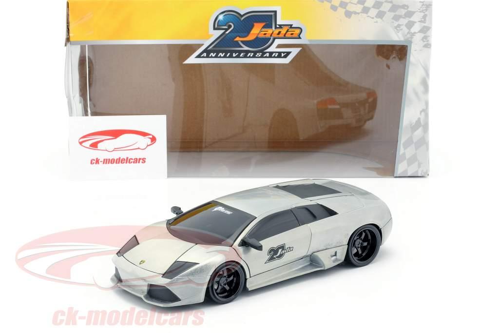Lamborghini Murcielago sølvgrå 1:24 Jada Toys