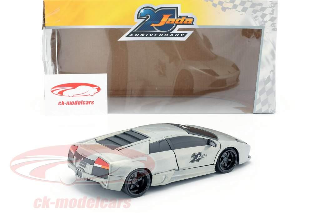 Lamborghini Murcielago gris argenté 1:24 Jada Toys