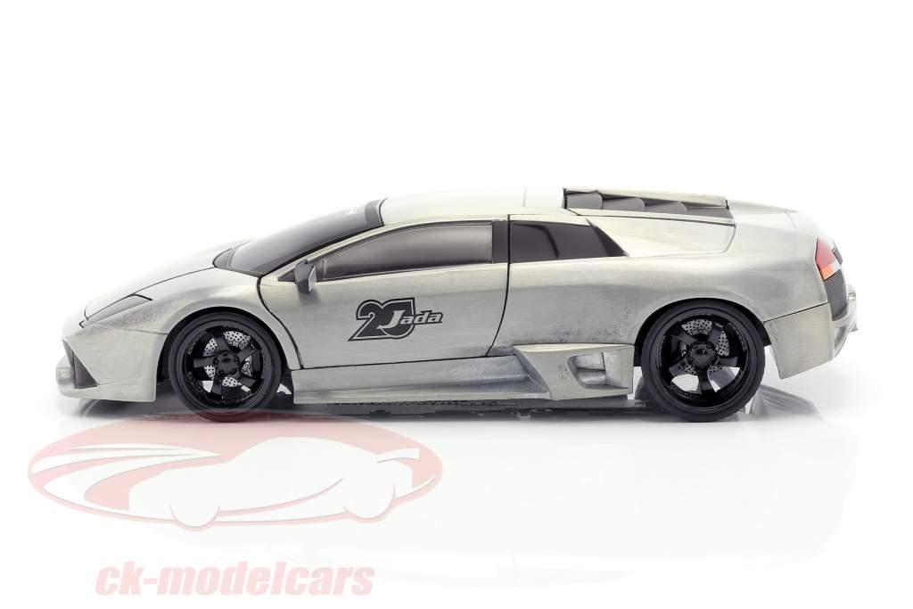 Lamborghini Murcielago silver grey 1:24 Jada Toys