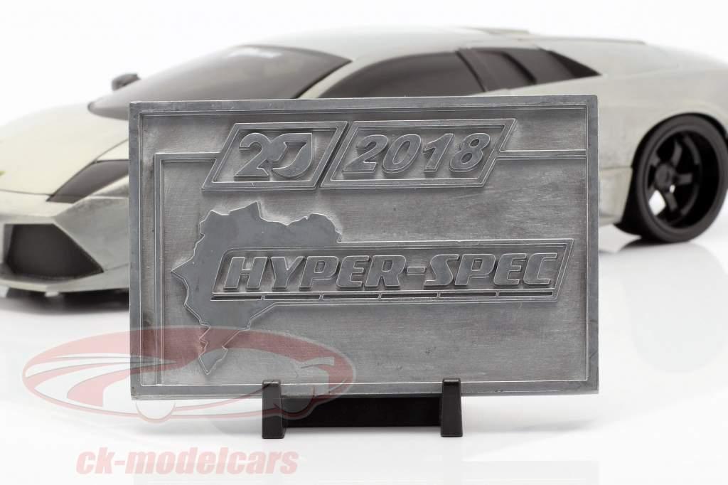Lamborghini Murcielago grigio argento 1:24 Jada Toys
