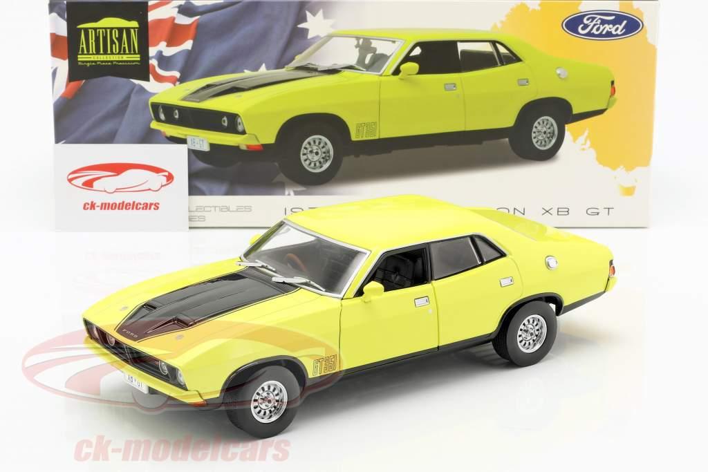 Ford Falcon XB GT351 ano de construção 1974 amarelo 1:18 Greenlight