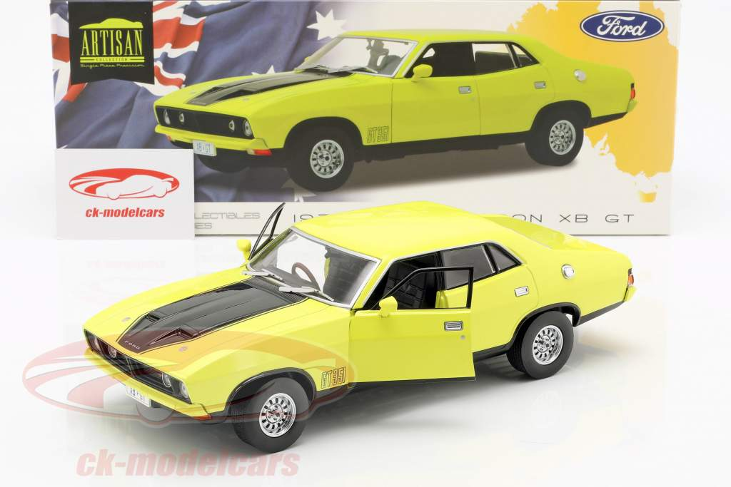 Ford Falcon XB GT351 year 1974 yellow 1:18 Greenlight
