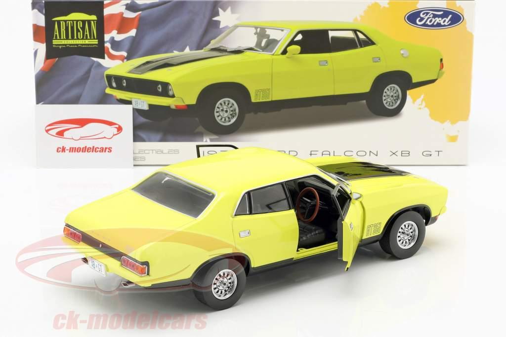 Ford Falcon XB GT351 année de construction 1974 jaune 1:18 Greenlight