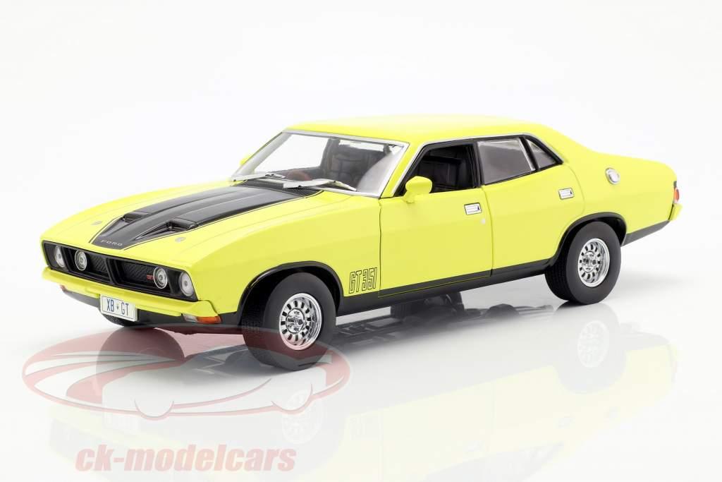 Ford Falcon XB GT351 año de construcción 1974 amarillo 1:18 Greenlight