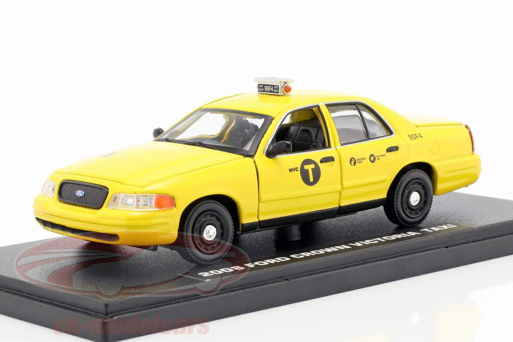 Ford Crown Victoria taxa Opførselsår 2008 film John Wick 2 (2017) gul 1:43 Greenlight