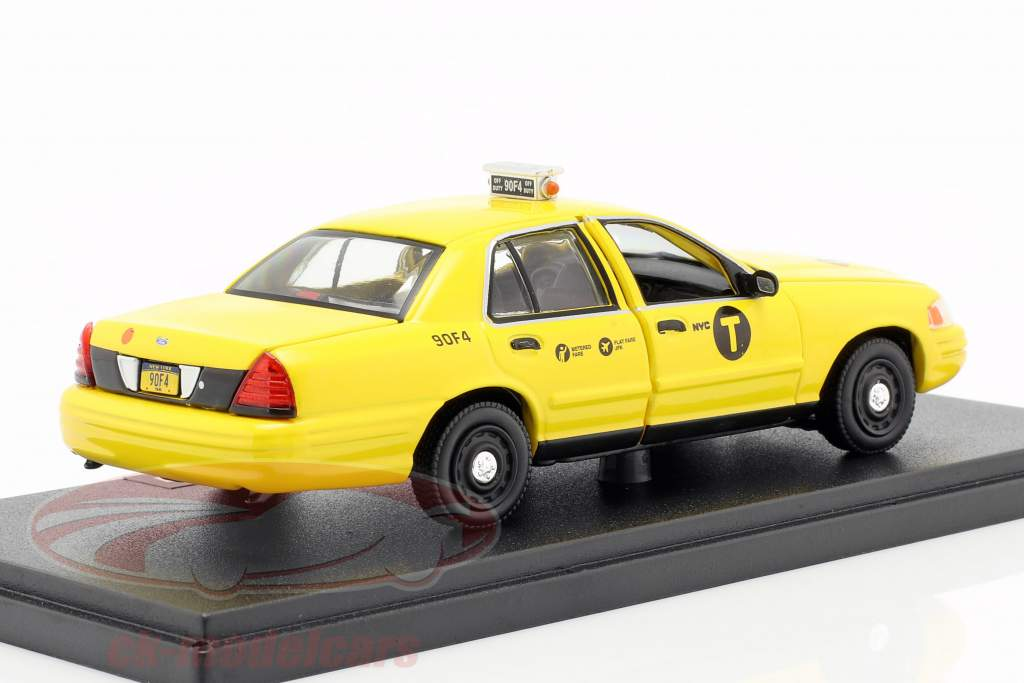 Ford Crown Victoria taxi year 2008 Movie John Wick 2 (2017) yellow 1:43 Greenlight