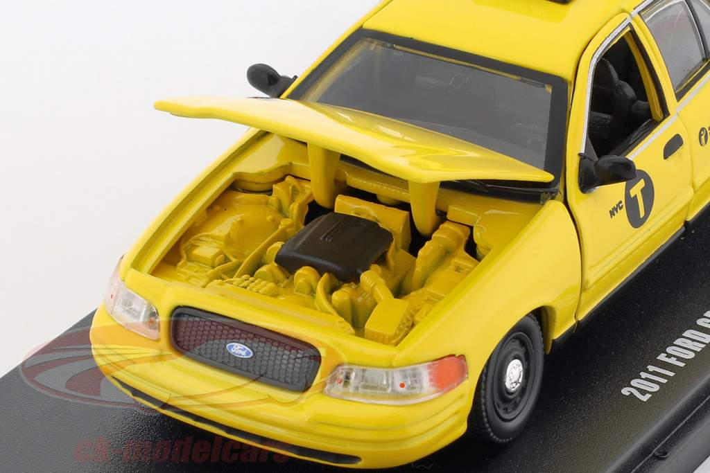 Ford Crown Victoria NYC taxi année de construction 2011 jaune 1:43 Greenlight