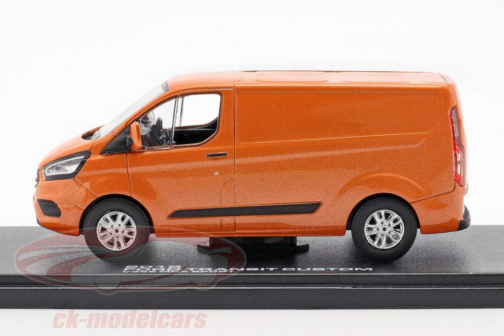 Ford Transit Custom V362 MCA Sport year 2018 orange metallic 1:43 Greenlight