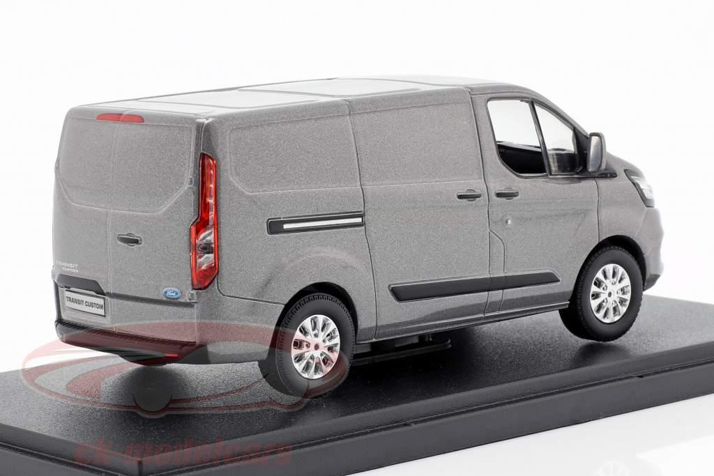 Ford Transit Custom V362 MCA año de construcción 2018 gris metálico 1:43 Greenlight