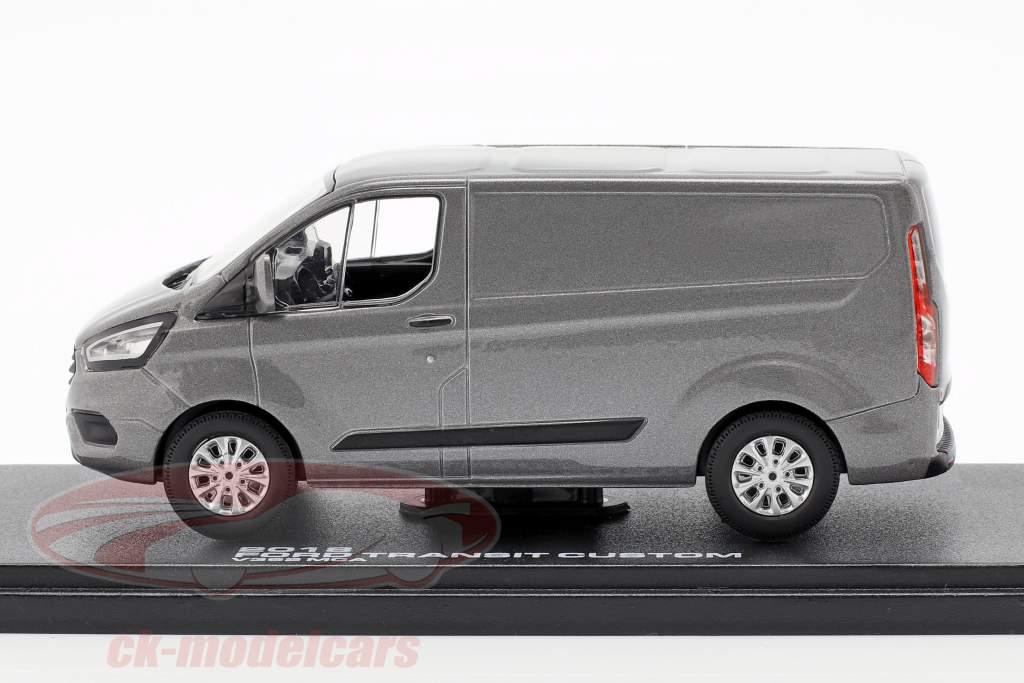 Ford Transit Custom V362 MCA year 2018 grey metallic 1:43 Greenlight