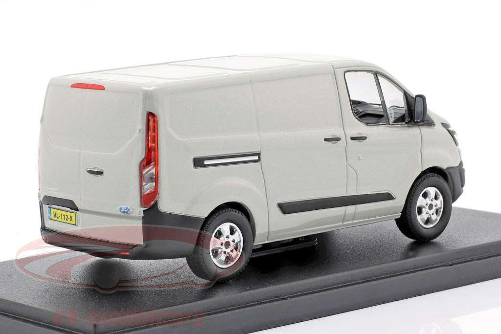 Ford Transit Custom V362 Bouwjaar 2016 zilver metalen 1:43 Greenlight