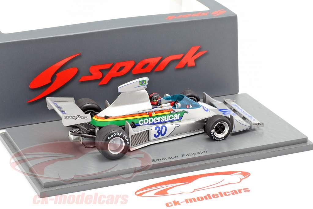 Emerson Fittipaldi Copersucar FD04 #30 Brasilien GP formel 1 1976 1:43 Spark