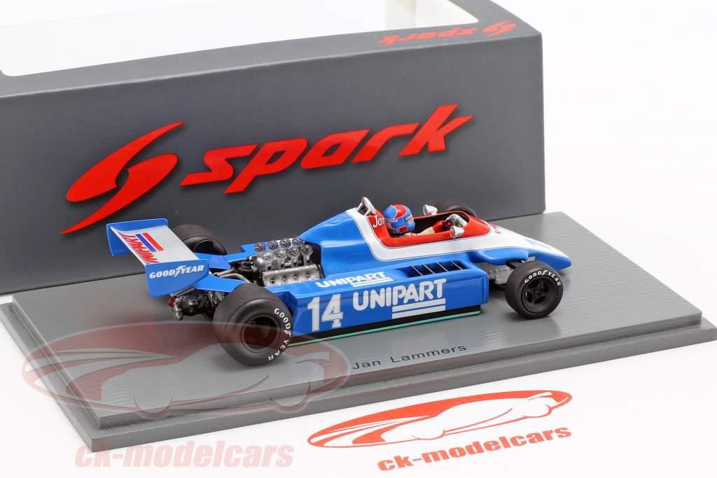 Jan Lammers Ensign N180 #14 británico GP fórmula 1 1980 1:43 Spark