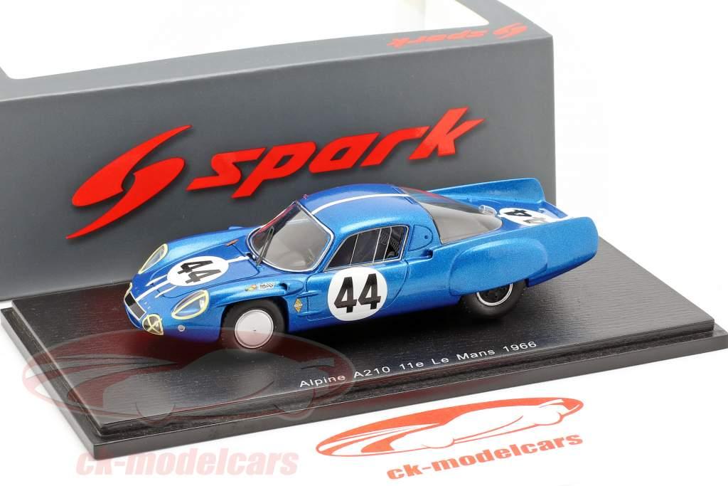 Alpine A210 #44 24h LeMans 1966 Cheinisse, de Lageneste 1:43 Spark