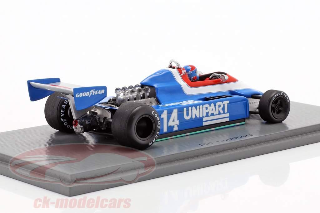 Jan Lammers Ensign N180 #14 Brits GP formule 1 1980 1:43 Spark