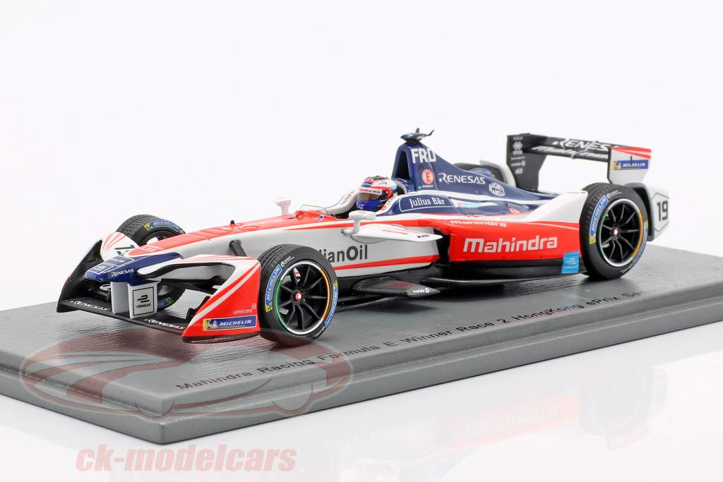 Felix Rosenqvist Mahindra M4Electro #19 gagnant HongKong formule E 2017/18 1:43 Spark