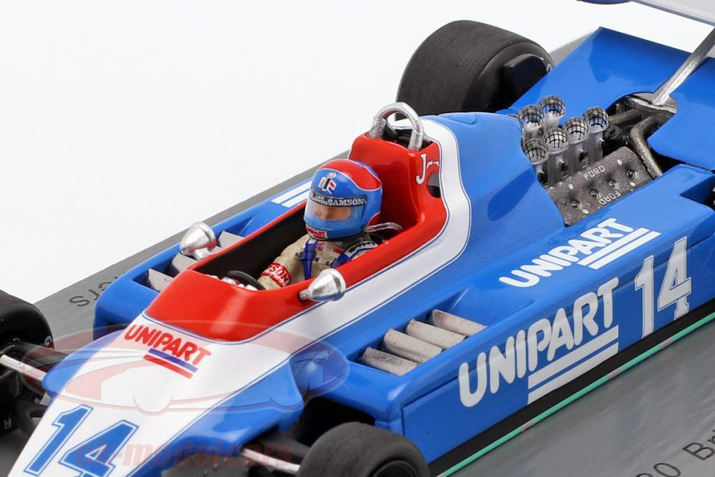 Jan Lammers Ensign N180 #14 British GP formula 1 1980 1:43 Spark