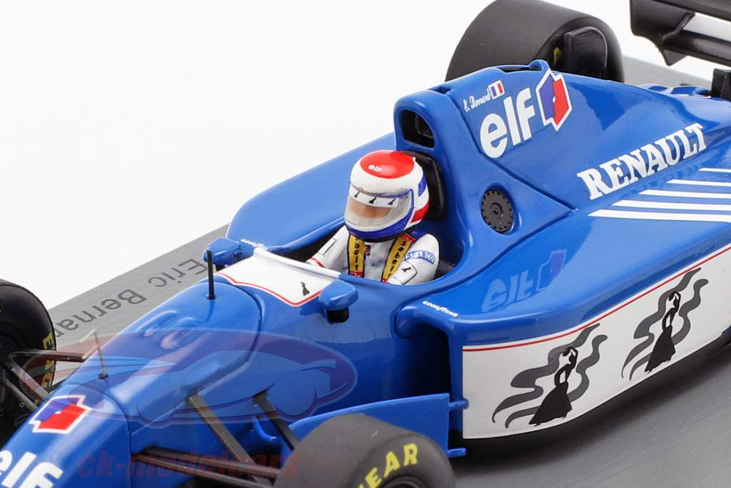 Eric Bernard Ligier JS39B #25 3. tysk GP formel 1 1994 1:43 Spark