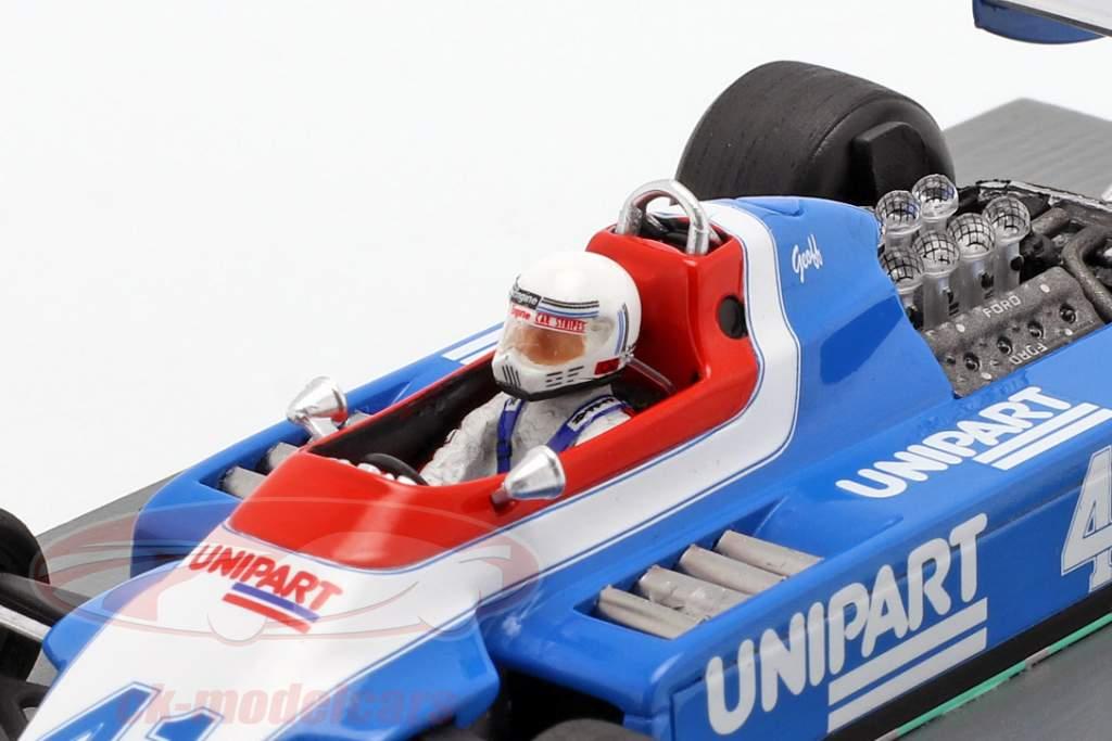 Geoff Lees Ensign N180 #41 Hollandsk GP formel 1 1980 1:43 Spark