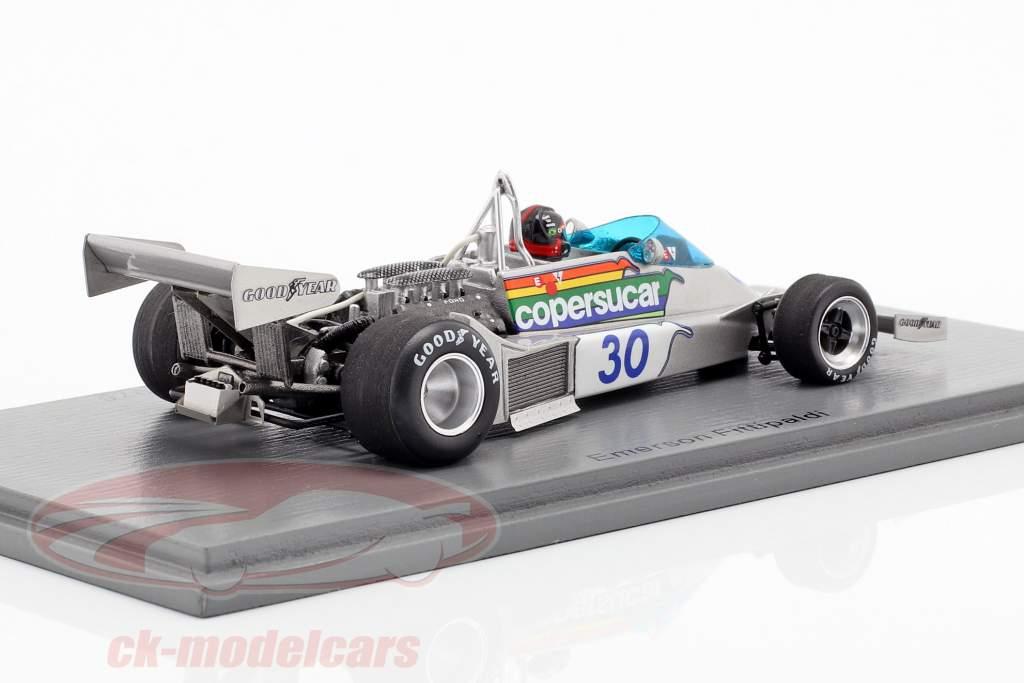 Emerson Fittipaldi Copersucar FD04 #30 6ª Monaco GP fórmula 1 1976 1:43 Spark
