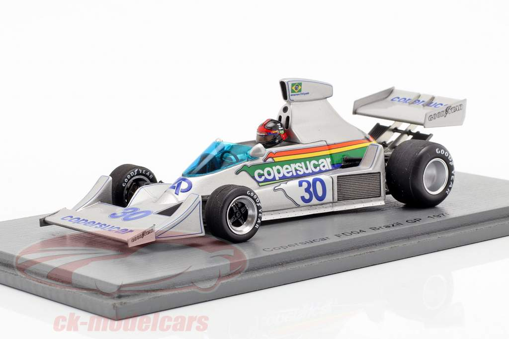 Emerson Fittipaldi Copersucar FD04 #30 Brasil GP fórmula 1 1976 1:43 Spark