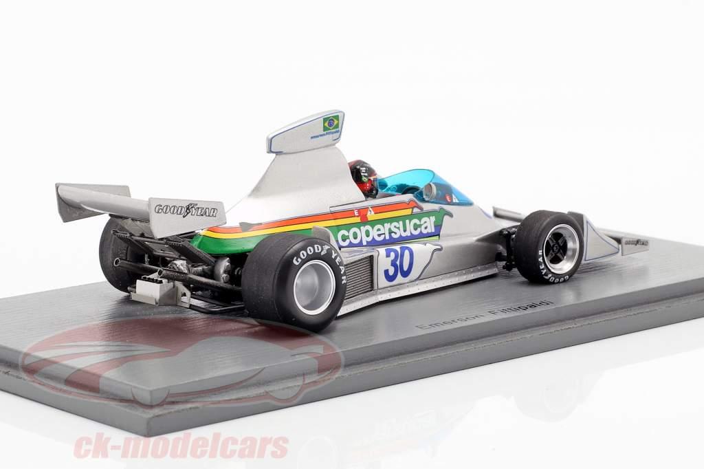 Emerson Fittipaldi Copersucar FD04 #30 Brazilië GP formule 1 1976 1:43 Spark