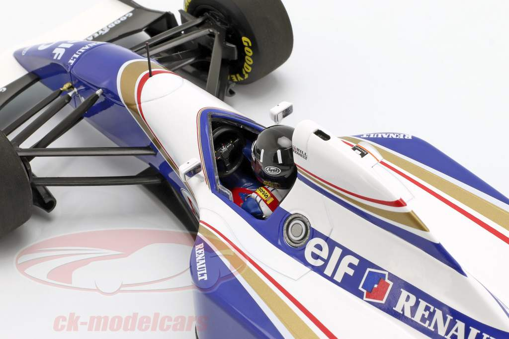 Damon Hill Williams FW16 #0 2nd Brazilian GP formula 1 1994 1:18 Minichamps