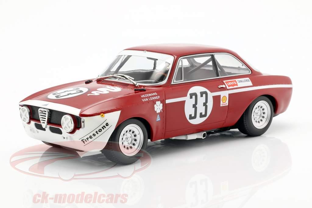 Alfa Romeo GTA 1300 Junior #33 ganador Div.1 4h Jarama 1972 1:18 Minichamps