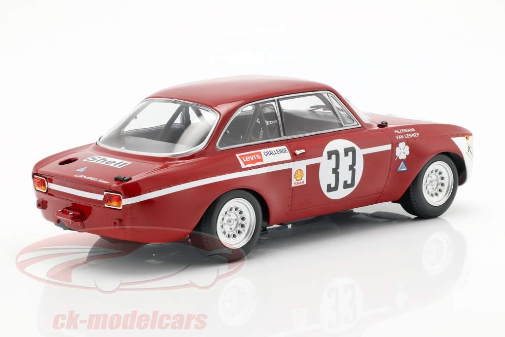 Alfa Romeo GTA 1300 Junior #33 vincitore Div.1 4h Jarama 1972 1:18 Minichamps
