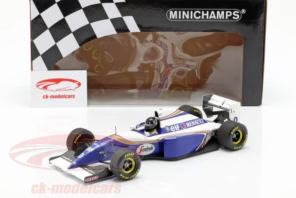 Damon Hill Williams FW16 #0 2e Braziliaans GP formule 1 1994 1:18 Minichamps