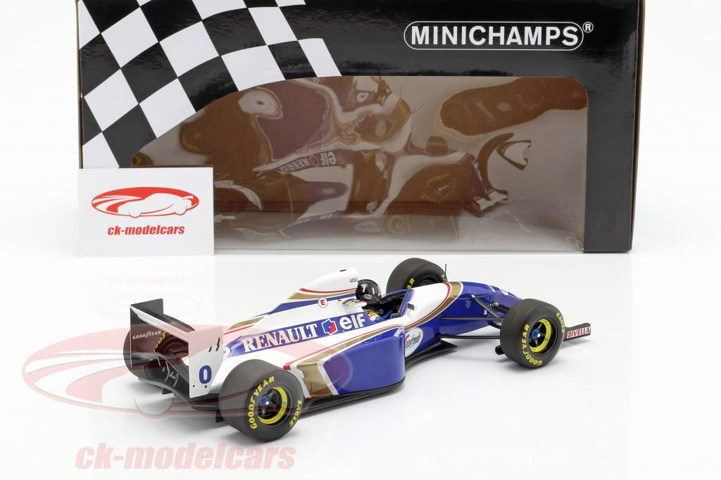 Damon Hill Williams FW16 #0 2º brasileiro GP fórmula 1 1994 1:18 Minichamps