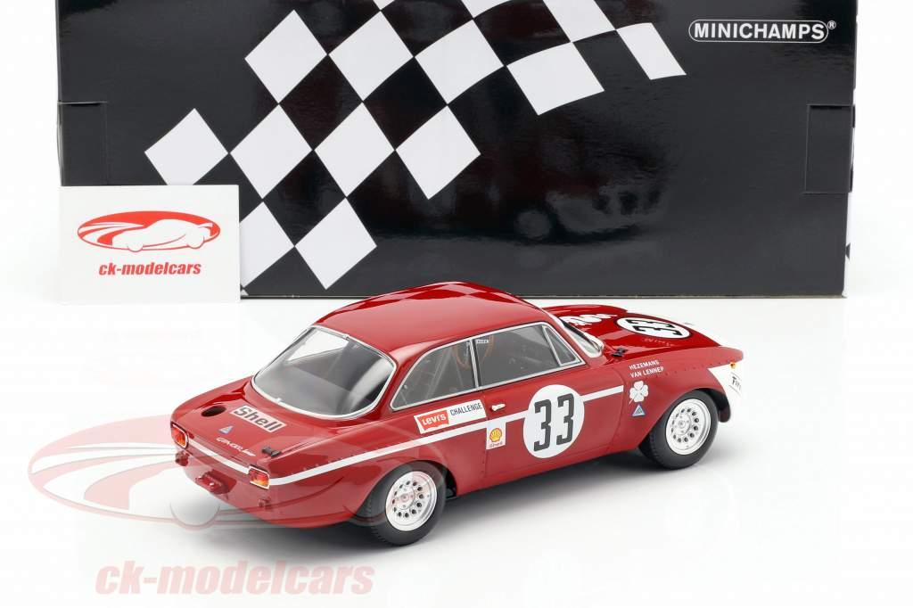 Alfa Romeo GTA 1300 Junior #33 vencedor Div.1 4h Jarama 1972 1:18 Minichamps