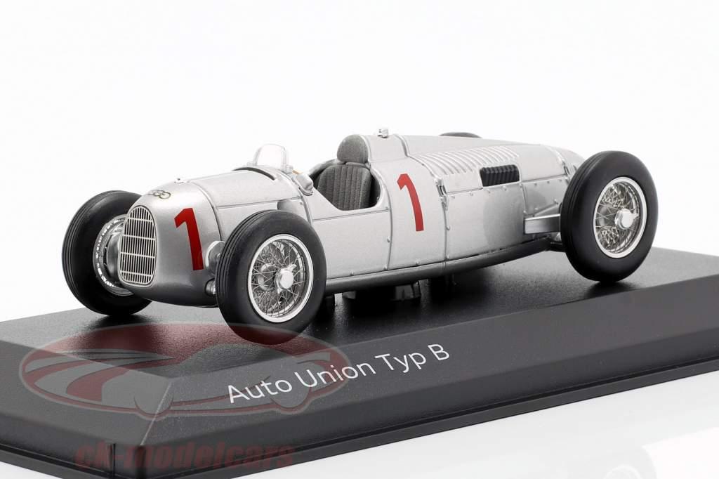 Auto Union Typ B #1 plata 1:43 Minichamps