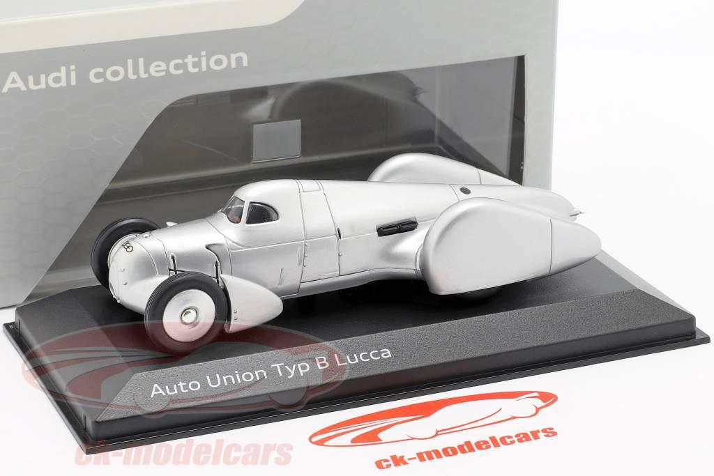 Auto Union Typ B Lucca sølv 1:43 Minichamps