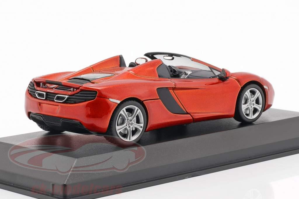 McLaren MP4-12C Spider Año 2012 volcán Naranja metálico 1:43 Minichamps