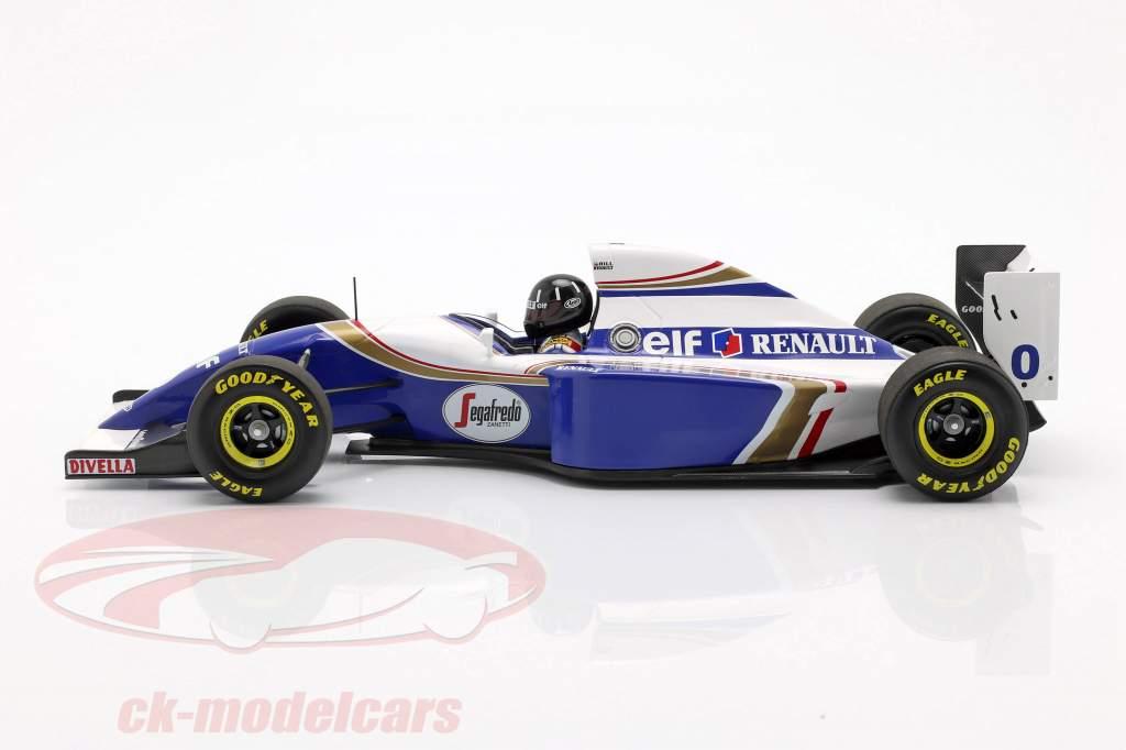 Damon Hill Williams FW16 #0 segundo brasileño GP fórmula 1 1994 1:18 Minichamps