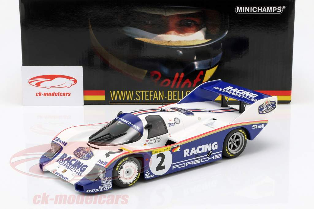Porsche 956K #2 regazo registro 1000km Nürburgring 1983 Bellof, Bell 1:18 Minichamps