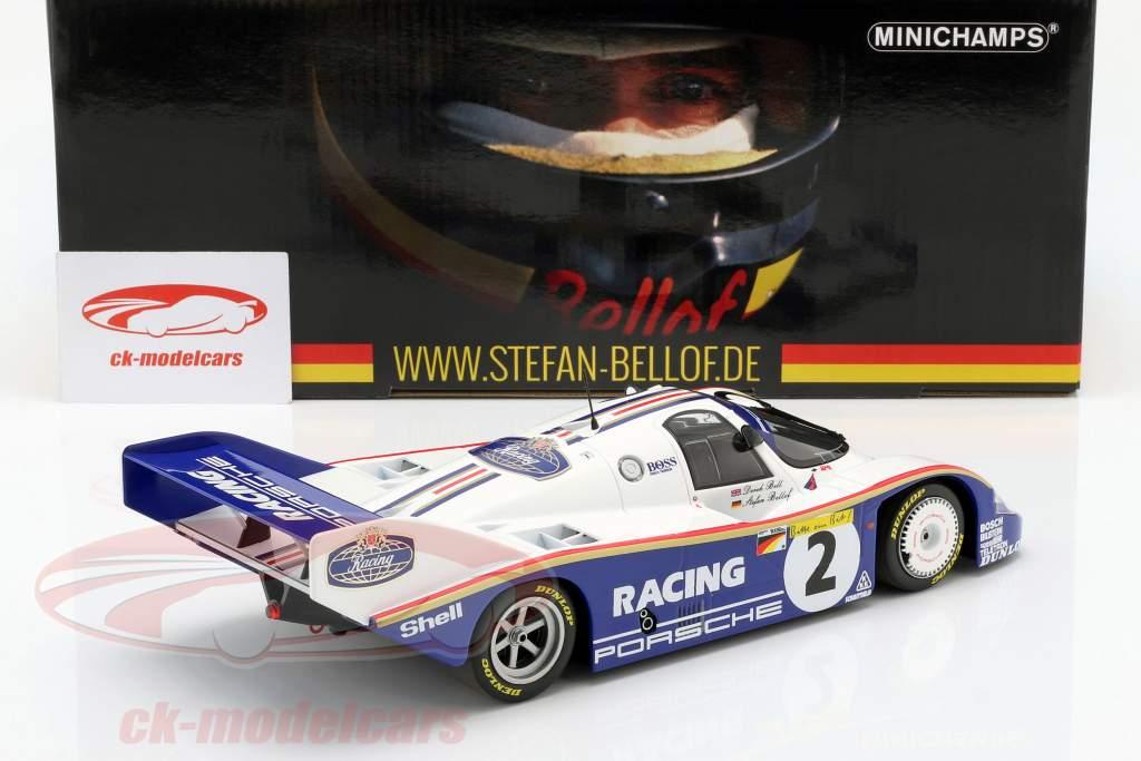 Porsche 956K #2 record du tour 1000km Nürburgring 1983 Bellof, Bell 1:18 Minichamps