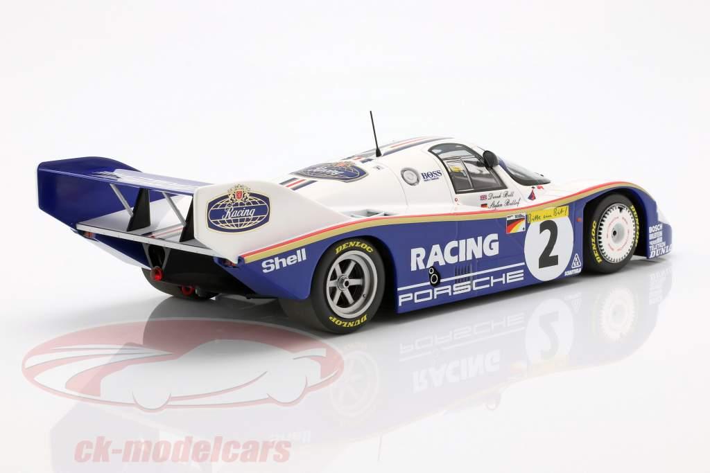 Porsche 956K #2 colo recorde 1000km Nürburgring 1983 Bellof, Bell 1:18 Minichamps