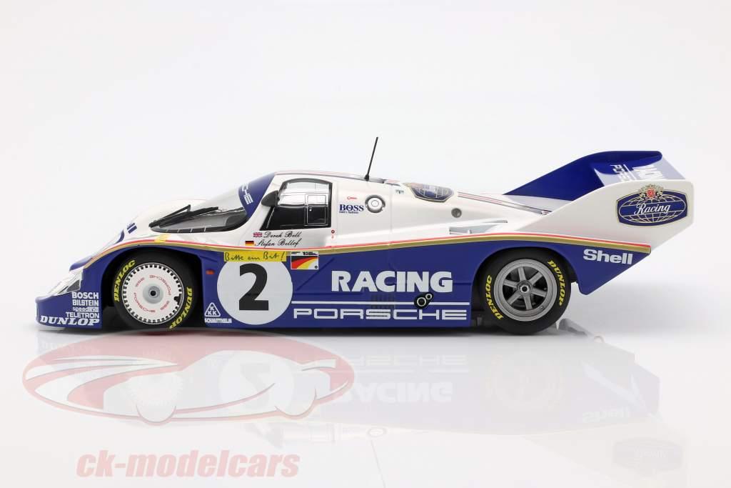 Porsche 956K #2 rekord skødet 1000km Nürburgring 1983 Bellof, Bell 1:18 Minichamps