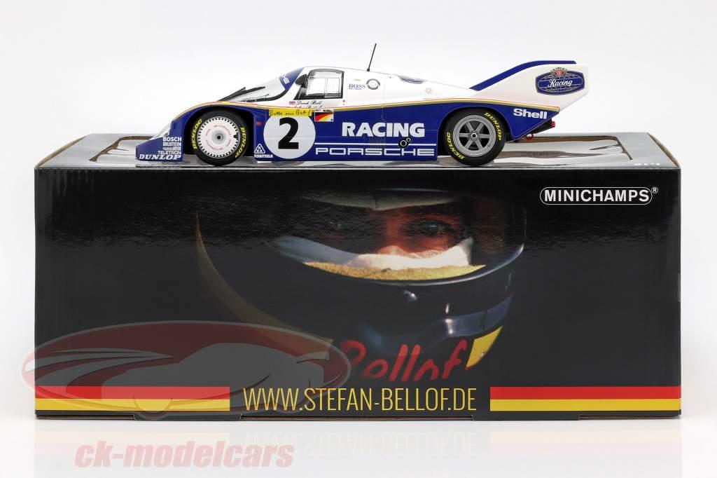 Porsche 956K #2 giro record 1000km Nürburgring 1983 Bellof, Bell 1:18 Minichamps