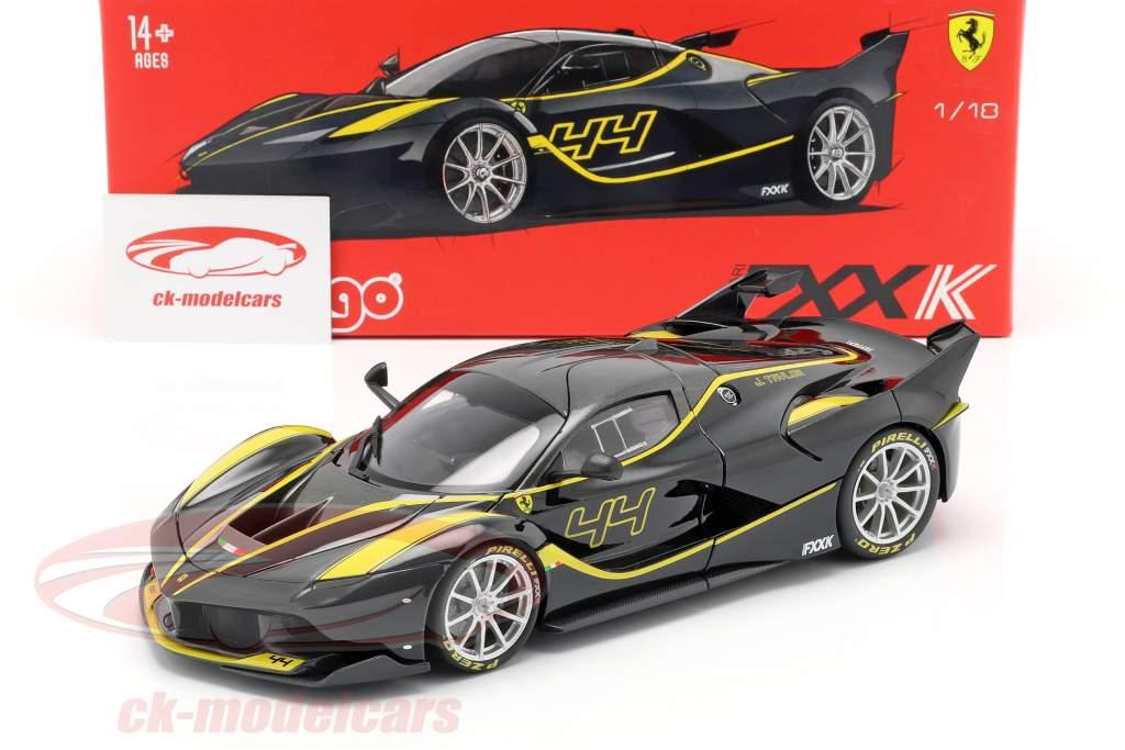 Ferrari FXX año de construcción 2005-2006 negro//blanco 1:43 Altaya